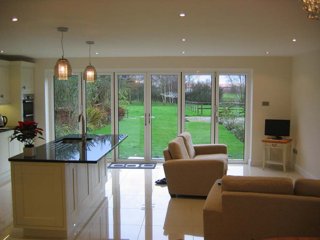 Family room extension,Cheshire